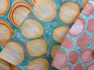marbled circles 1